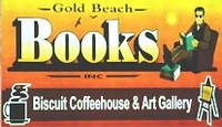 Gold Beach Books, Biscuit CoffeeHouse & Gallery